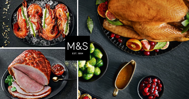 M&S Christmas and New Year - Food to Order