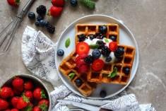Protein Vegan Waffles 1