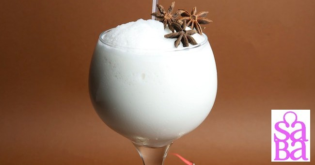 Saba's Master Mixologist creates Christmas Cocktails