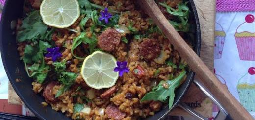 Gubbeen Chorizo, Prawn & Chicken Paella Recipe by Ethna Reynolds