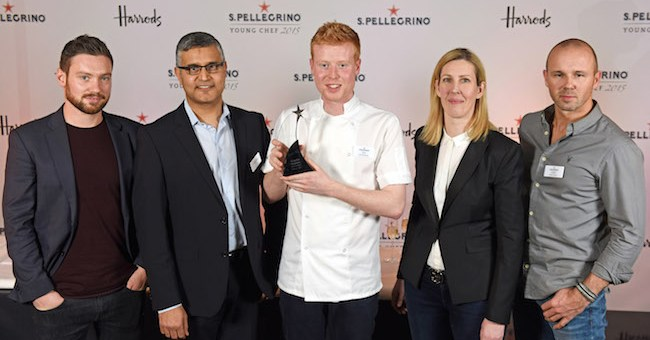 Young Irish Chef Mark Moriarty Crowned Ireland & the UK Winner of the San Pellegrino Young Chef 2015