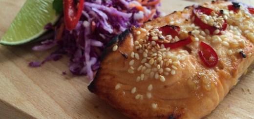 Wonky Spatula Grilled Asian Salmon