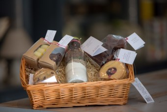 Mrs Tea Christmas Hampers, from €75