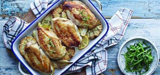 Neven garlic and lemon chicken