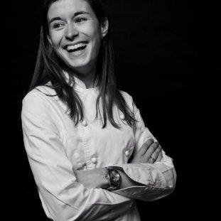 Chef Marion Flipo at Laduree Dublin