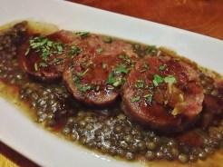 Cotechino with Puy Lentils