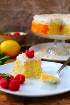 Grain Free Lemon Cauliflower Cake