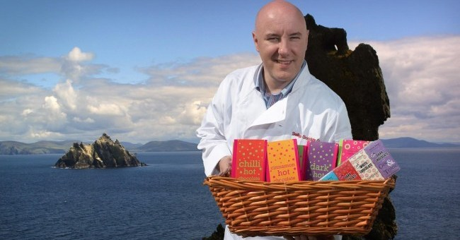 Skelligs Chocolate Colm Healy