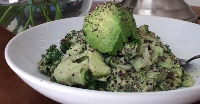 The Honest Project Green Vegetable Quinoa Salad