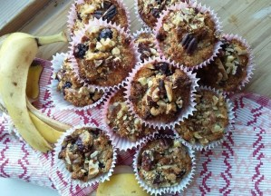 Lemon, Banana and Blueberry Muffins Natural Born Feeder Cookbook Roz Purcell
