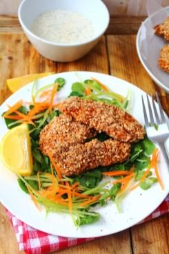 Buffalo Chicken Tenders Recipe by Peachy Palate