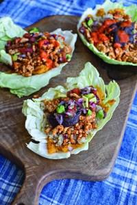 Roz Purcell Burrito Cabbage Wrap