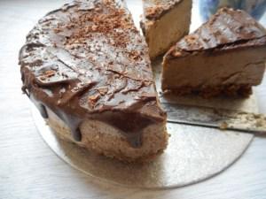 Thyme to Eat Chocolate and Coffee Ice Cream Cake