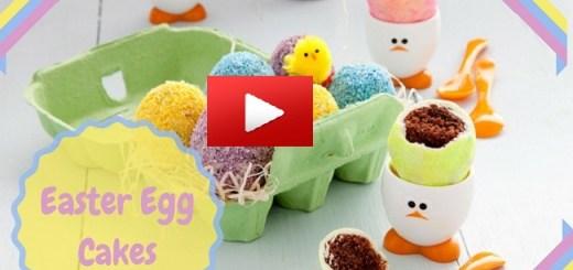Easter Egg Cake Louise Lennox