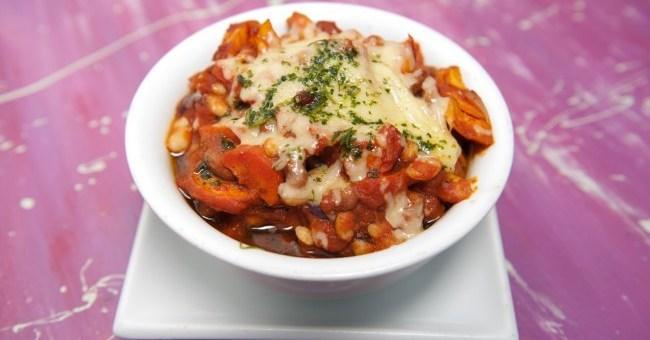 Veggie Bean Cassarole Chef Louise Clarke