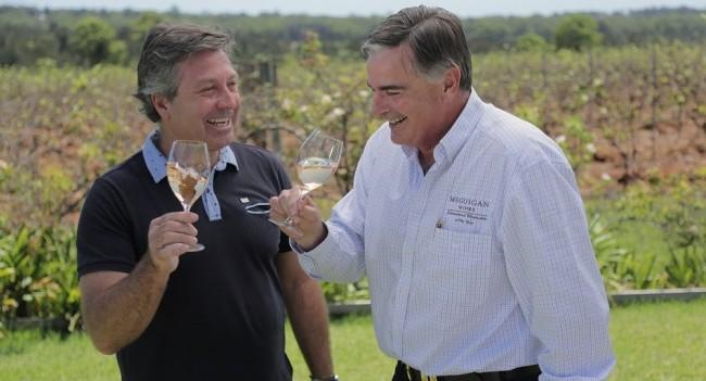 John Torode and Neil McGuigan