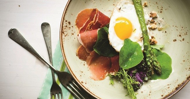 Eggs and Asparagus Tapas Recipe by Chef JP McMahon