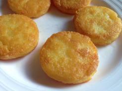Fried Polenta Cakes