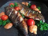 Mackerel, Tomatoes & Kale