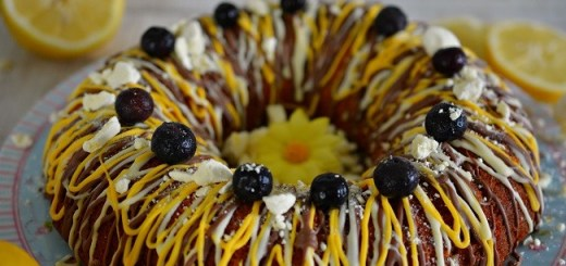 Lemongrass & Blueberry Bundt Cake Recipe Irish Baking Adventures