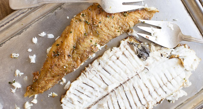 Pan-Fried Plaice with Lemon Caper Brown Butter Recipe from My Irish Table Cookbook