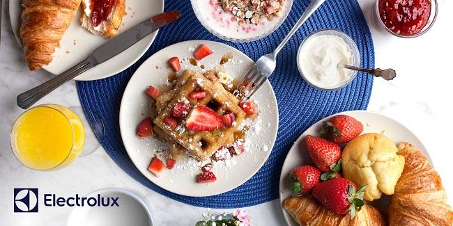 Strawberry Pancakes recipe Electrolux