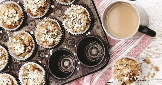 Apple and carrot muffins recipe by Derval O'Rourke