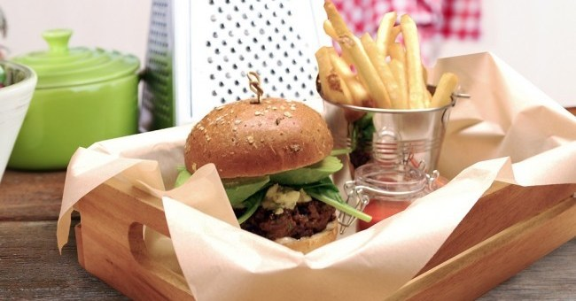 Black Pudding Burger Recipe | TheTaste.ie