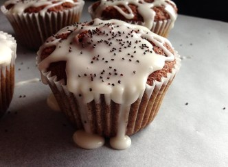 Beetroot Cupcakes Recipe with Orange & Poppy Seed Icing by Niamh Mannion