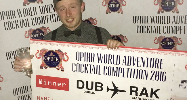 Patrick Noir of MVP Cocktail Bar to Represent Ireland in Global Competition in Morocco