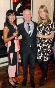 Amanda Thomson, David Murray and Aisling Cooney at BALFES Dublin attending the official Irish launch party for Thomson & Scott Skinny Prosecco