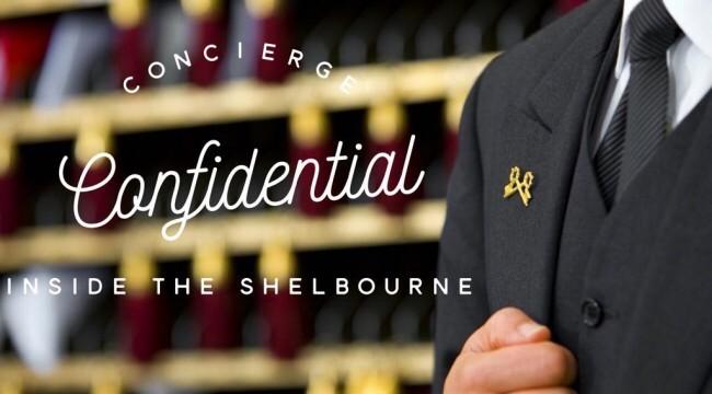 Concierge Confidential. Inside The Shelbourne