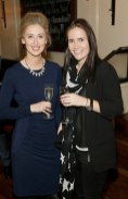 Grace Carroll and Tara Kelly at BALFES Dublin attending the official Irish launch party for Thomson & Scott Skinny Prosecco