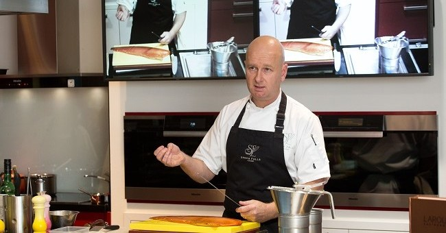 Miele Cooking Demonstration at the Miele Experience Centre with Chef Philip Brazil from Sheen Falls Lodge