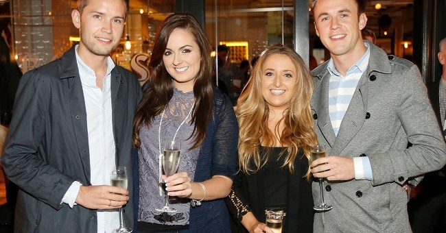 Stefan Langan, Lynne Davies, Rebecca Shekleton and Jamie Gill at BALFES Dublin attending the official Irish launch party for Thomson & Scott Skinny Prosecco