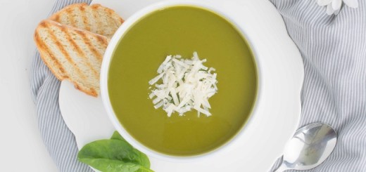 Mediterranean Spinach Soup Recipe by Tasty Mediterraneo