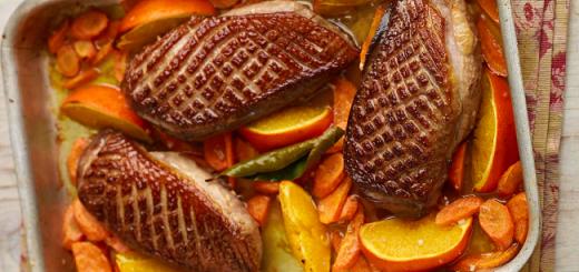 Duck À L'Orange Recipe from The Allergy-Free Family Cookbook