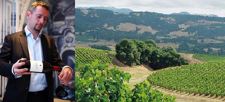 Interview Dimitri Mesnard, Master Sommelier and International Brand Ambassador for Jackson Family Wines