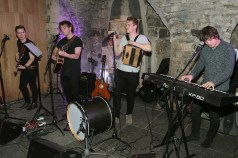 Music Group Seolinn at The Loop's Joy of Giving Christmas launch at The Crypt in Chirstchurch,Dublin. Picture Brian McEvoy No Repro fee for one use