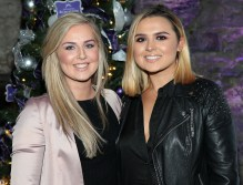 Aimee Connolly and Aideen Murphy at The Loop's Joy of Giving Christmas launch at The Crypt in Chirstchurch,Dublin. Picture Brian McEvoy No Repro fee for one use