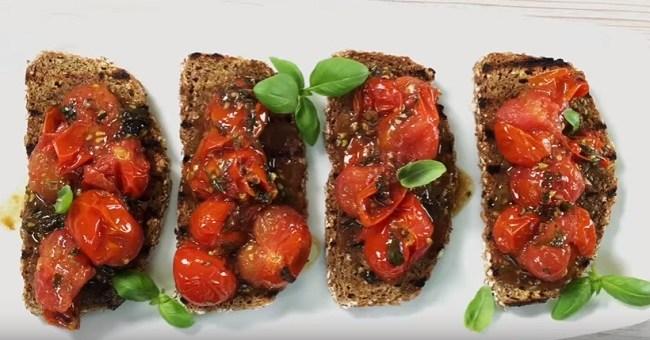 Irish soda bread bruschetta recipe