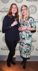 Nikki Bertenshaw and Sharon Murray at the Dublin launch of Sullivan's Brewing Company at Lemon & Duke,Royal Hibernan Way,Dublin Picture Bbrian Mcevoy No repro fee for one use