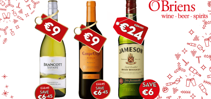 O'Briens Wine Big WIGIG (When It's Gone It's Gone) Promotion is Here