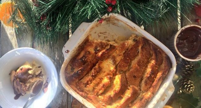 Darina Coffey Panettone Bread and Butter Pudding