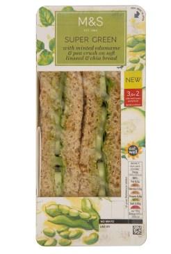 M&S Vegan Sandwich 1