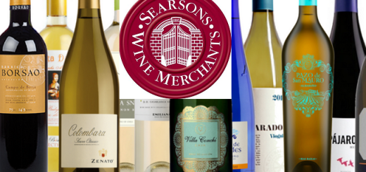 Taste your Way around the Wine World at the Searsons Annual Tasting on 6th February