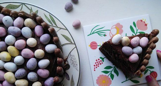 Mini Egg Easter Cake Recipe