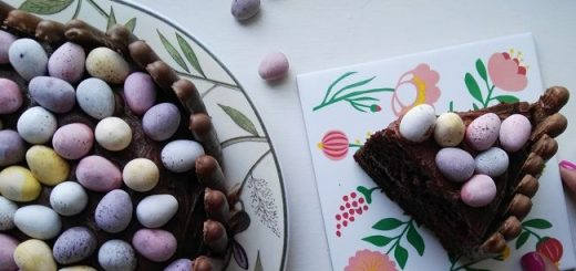 Mini Egg Easter Cake Recipe
