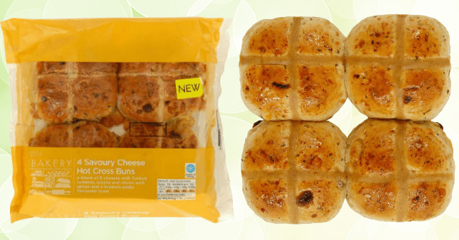M&S Introduces the First Savoury Hot Cross Bun