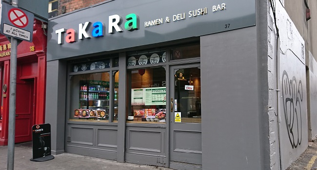 stomise your Sushi at Takara on Abbey Street | Takara Sushi Dublin